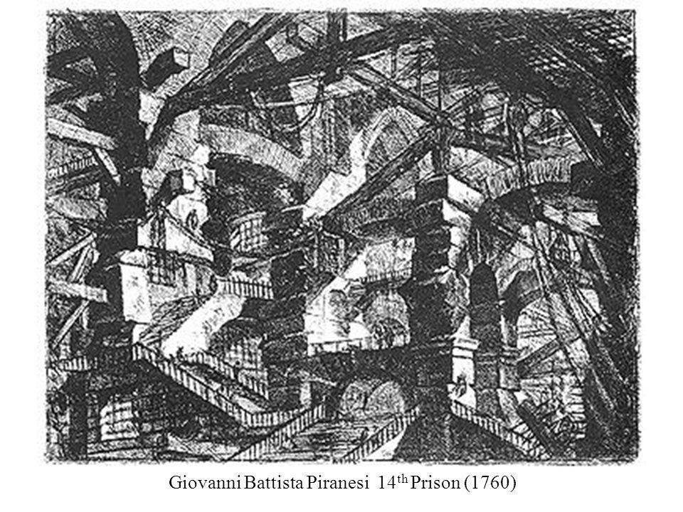 Giovanni Battista Piranesi 14 th Prison (1760)