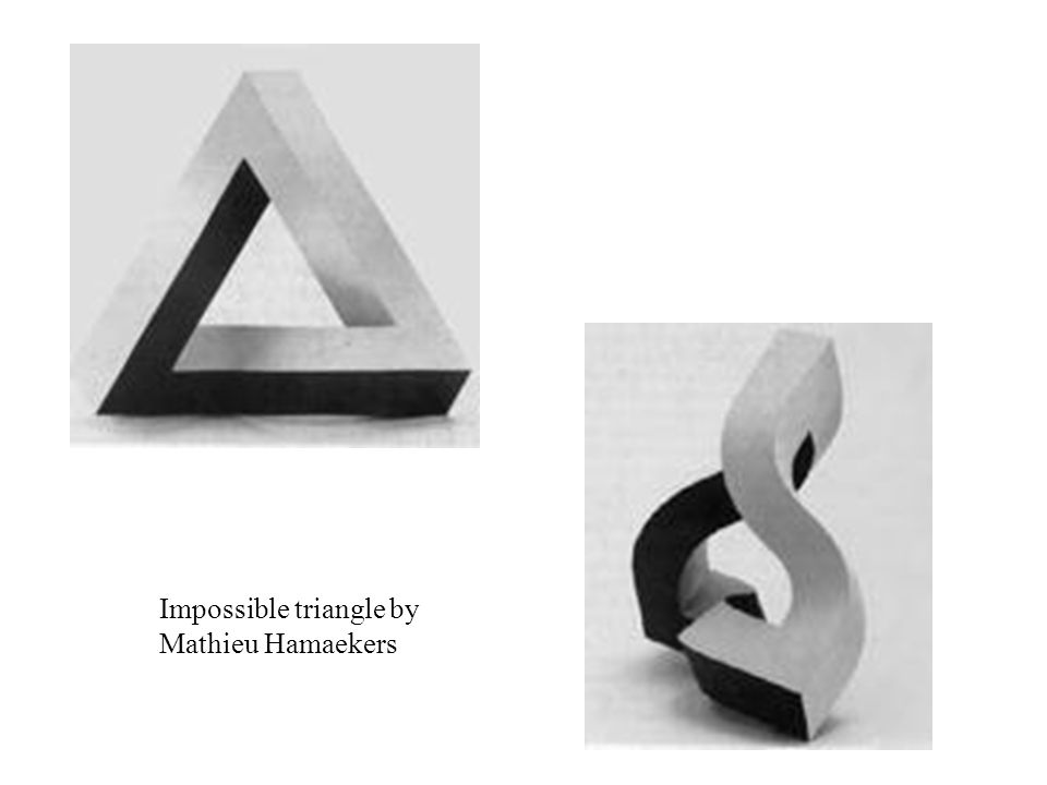 Impossible triangle by Mathieu Hamaekers