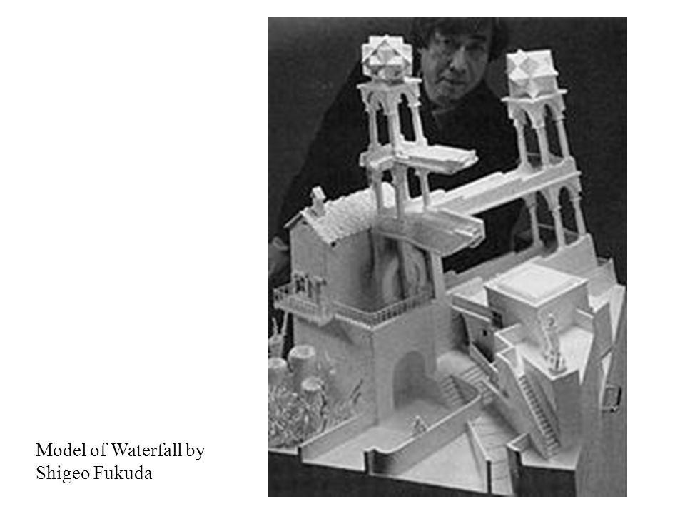 Model of Waterfall by Shigeo Fukuda