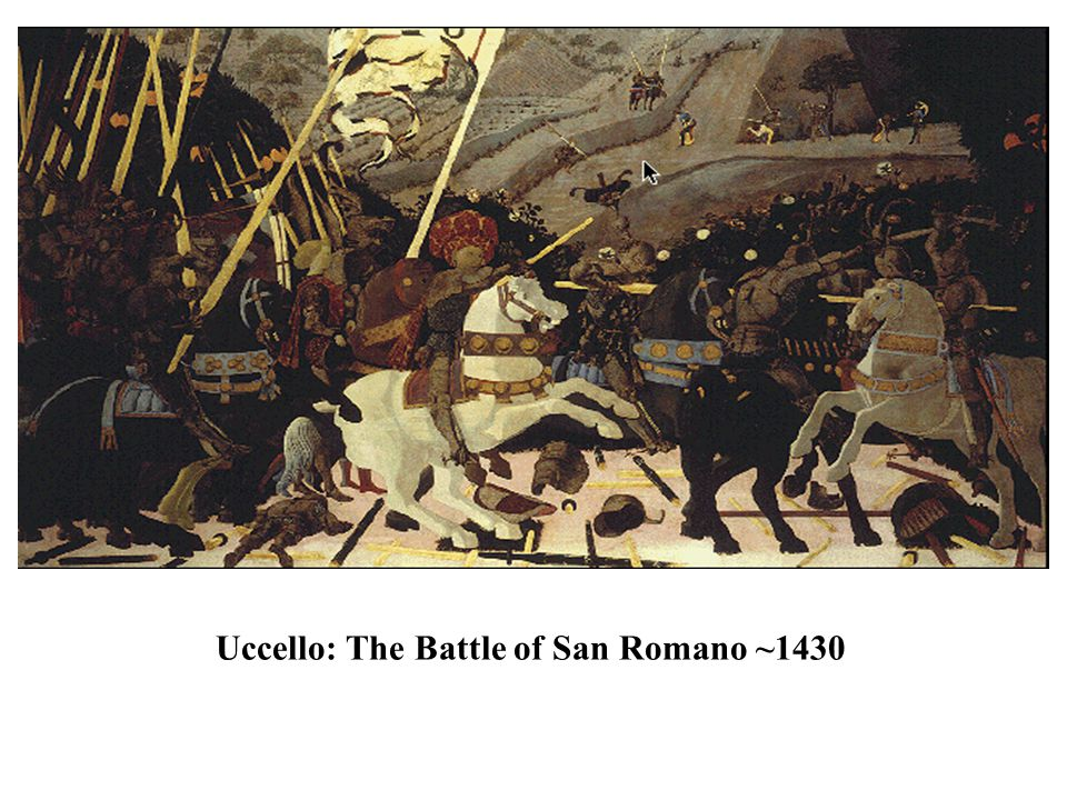 Uccello: The Battle of San Romano ~1430