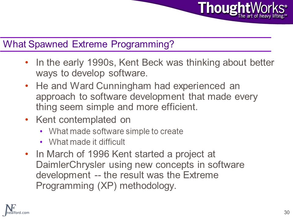 extreme programming ppt  for windows