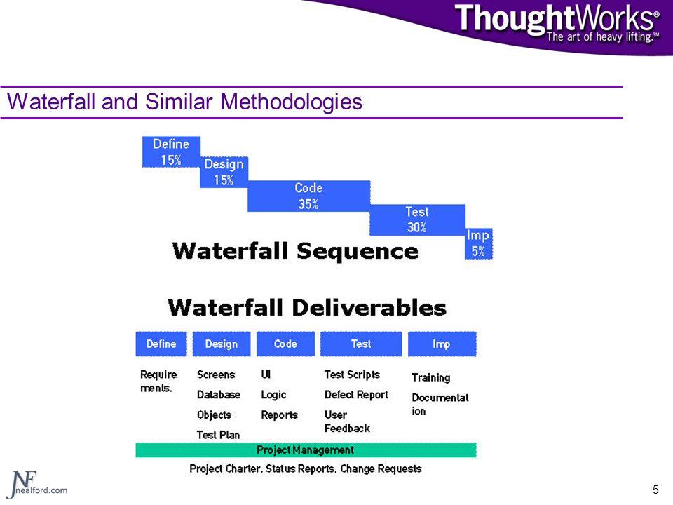 5 Waterfall and Similar Methodologies