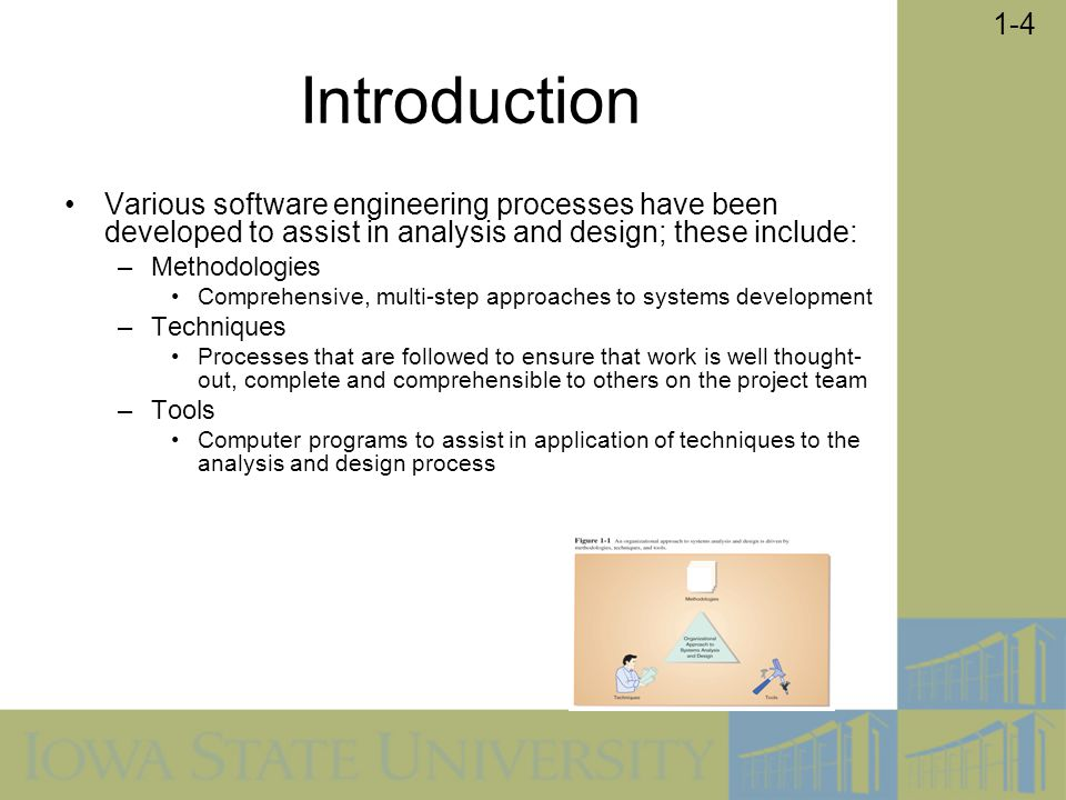 1-25 Agile Methodologies Motivated by recognition of software development as fluid, unpredictable, and dynamic Three key principles –Adaptive rather than predictive –Emphasize people rather than roles –Self-adaptive processes