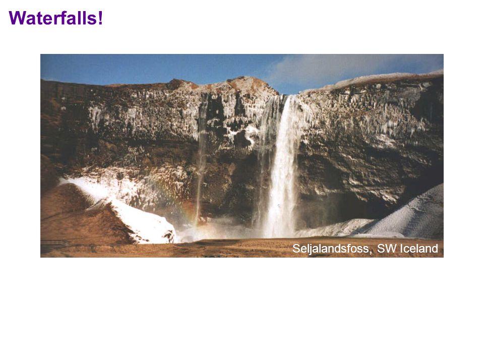 Waterfalls! Seljalandsfoss, SW Iceland