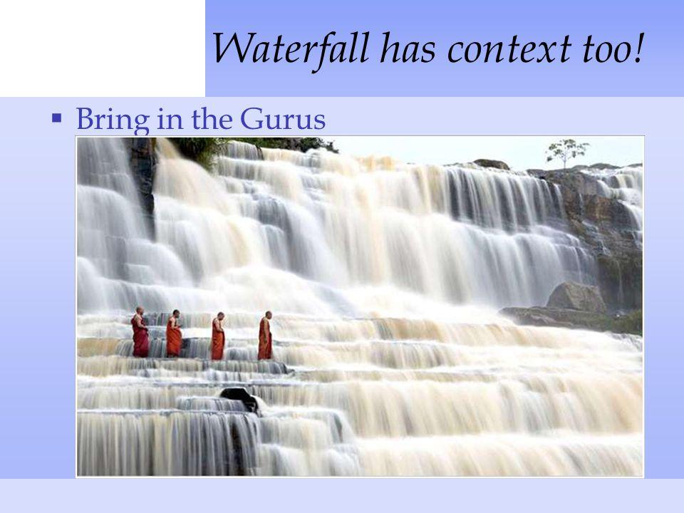  Glacial Waterfall has context too!