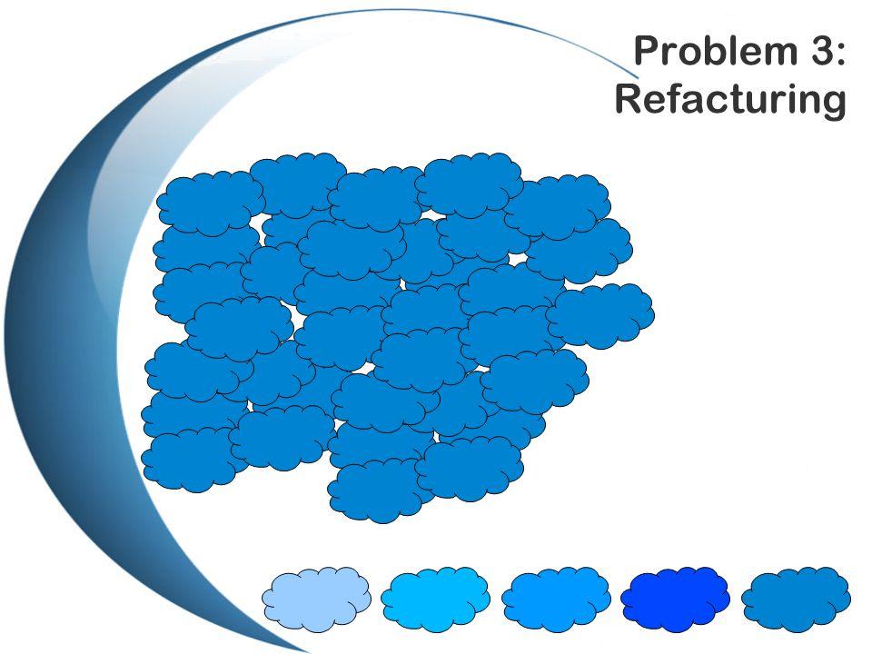 Problem 3: Refacturing