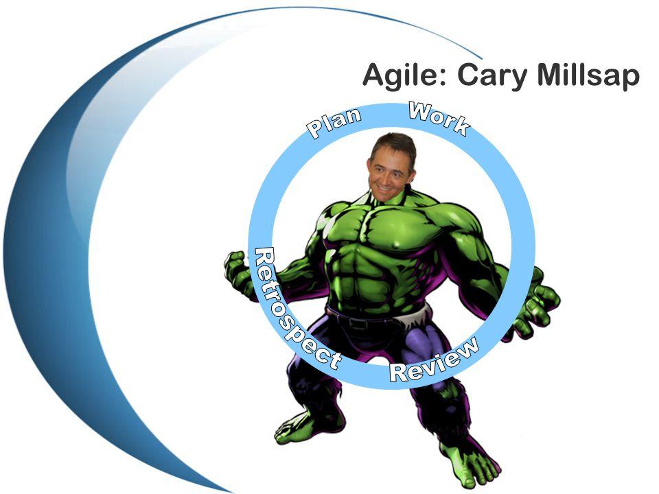 Agile: Cary Millsap