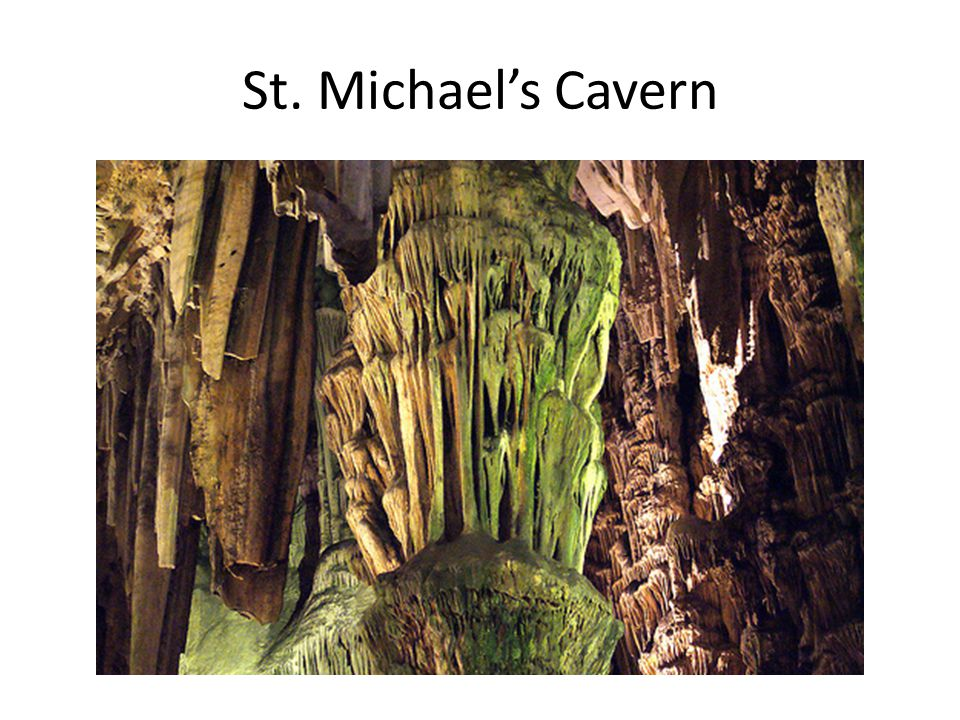St. Michael's Cavern