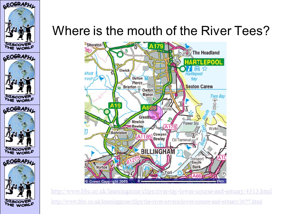 The lower section of the River Tees The lower course of the River Tees is _________.