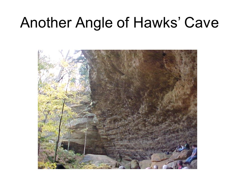 Another Angle of Hawks' Cave