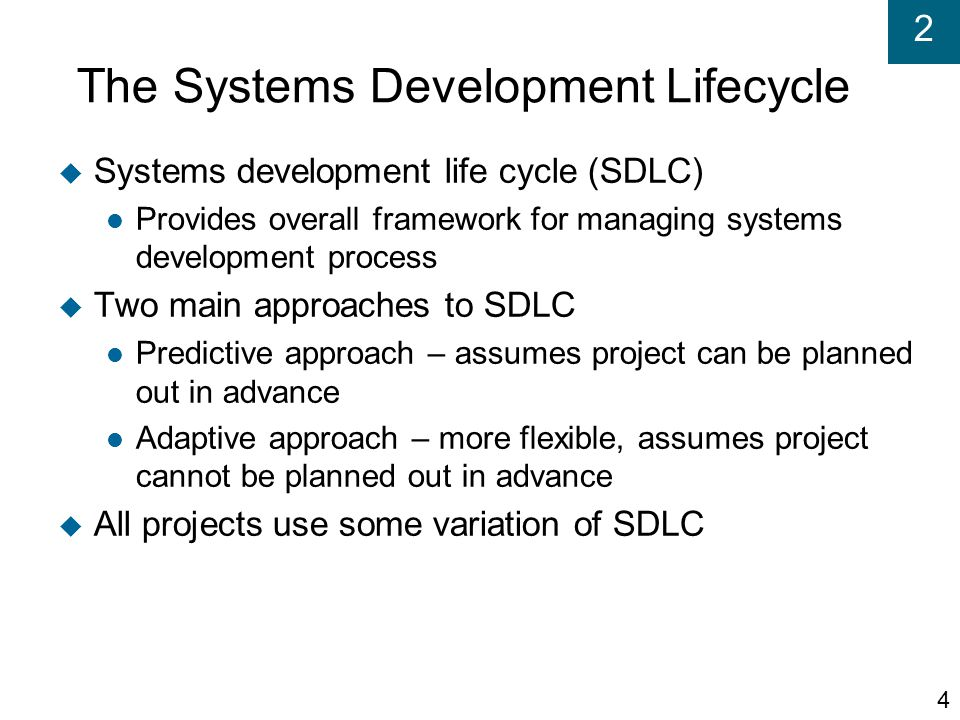 2 Extreme Programming (XP)  Recent, lightweight, development approach to keep process simple and efficient  Describes system support needed and required system functionality through informal user stories  Has users describe acceptance tests to demonstrate defined outcomes  Relies on continuous testing and integration, heavy user involvement, programming done by small teams 45