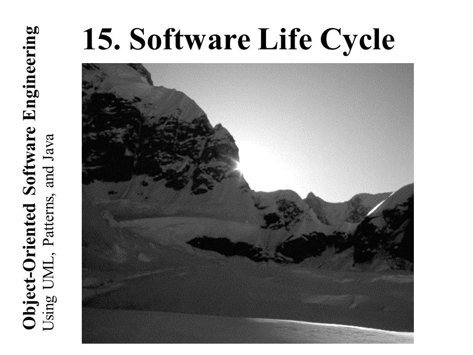 Copyright 2002 Bernd Brügge Software Engineering II, Lecture 3: Scheduling SS 2002 42 Cycle 1, Quadrant III: Prepare for Next Activity Requirements and Life cycle Planning Requirements and Life cycle Planning
