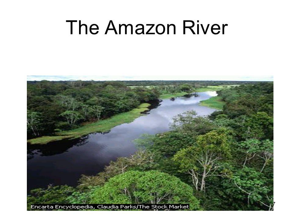 57 The Amazon River