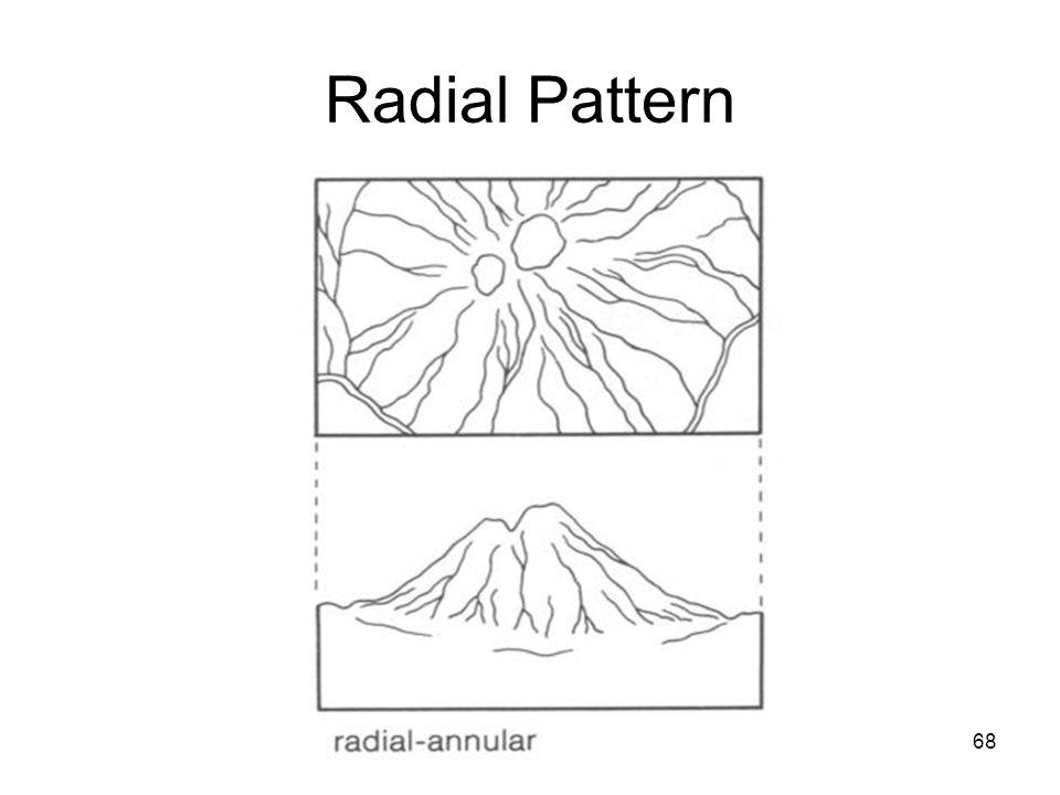 68 Radial Pattern