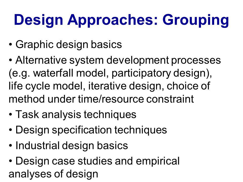 Gould et al.(1987): Principles of user-centered design 1.