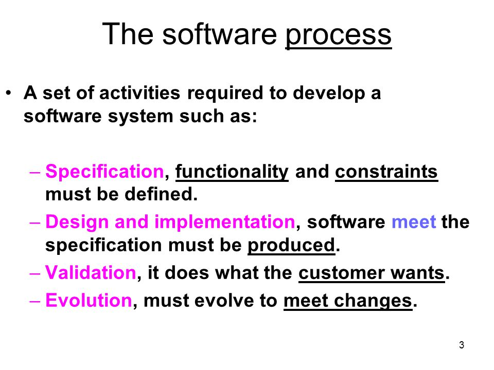 14 Evolutionary development, advantages More effective than waterfall because it meets the immediate needs of customers.