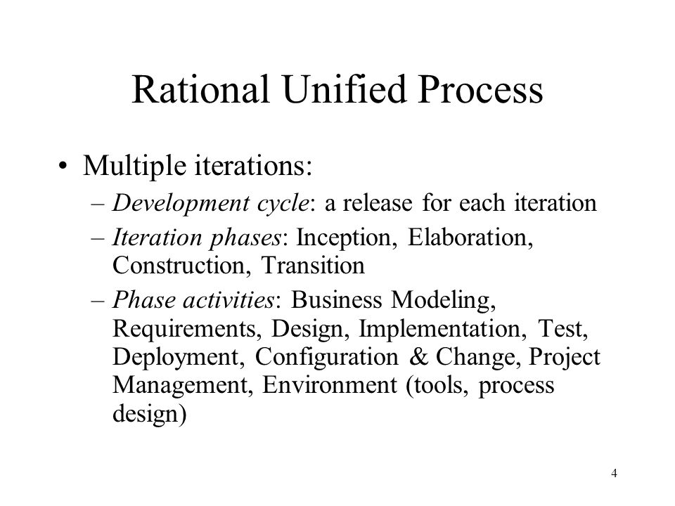 Rational Unified Process 5