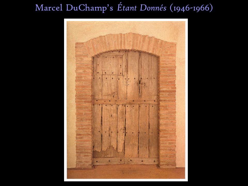 Marcel DuChamp's Étant Donnés (1946-1966)