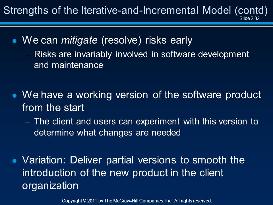 Slide 2.32 Copyright © 2011 by The McGraw-Hill Companies, Inc.