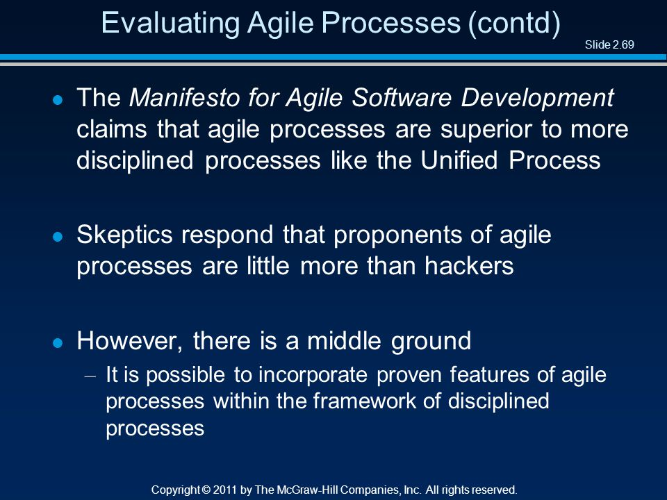 Slide 2.69 Copyright © 2011 by The McGraw-Hill Companies, Inc.