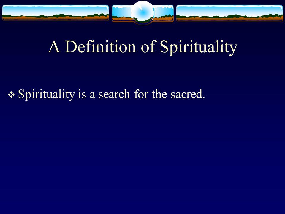 Spiritual Integration vs.Spiritual Disintegration  Broad and deep vs.