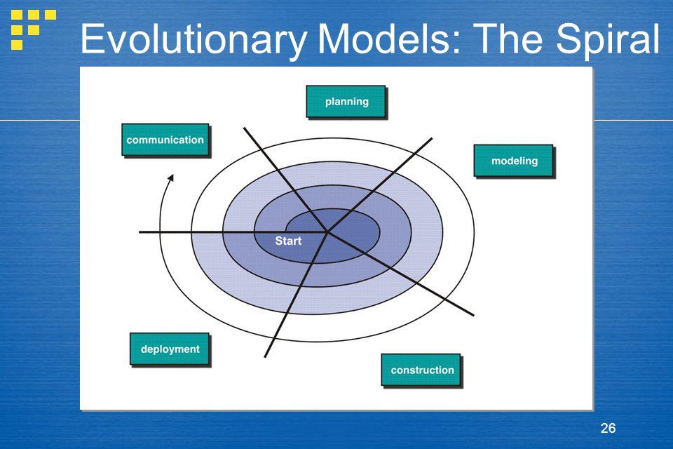 26 Evolutionary Models: The Spiral