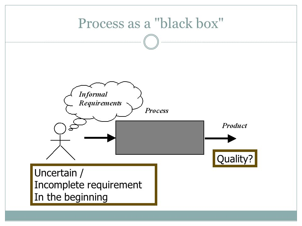 The Incremental Model User requirements are prioritised and the highest priority requirements are included in early increments.