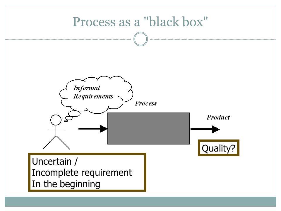 Process as a