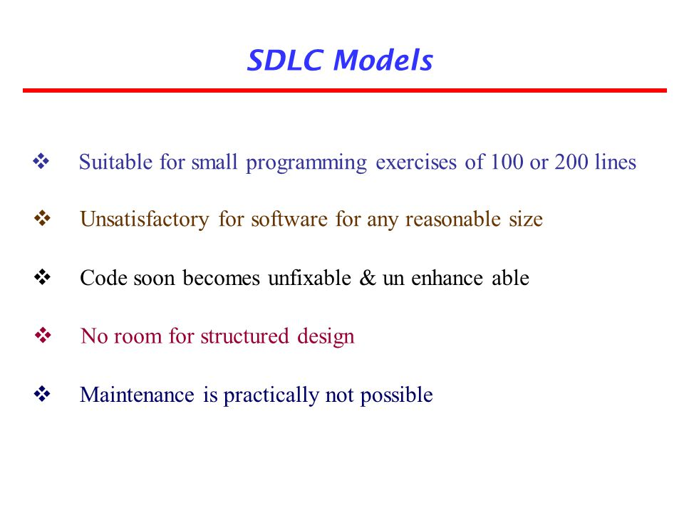Project type and risk WaterfallPrototypeIterative enhancement Evolutionary development SpiralRAD Based On Type Of Project With Associated Risk Project is the enhancement of the existing system Funding is stable for the project High reliability requirements Tight project schedule Use of reusable components Are resources (time, money, people etc.) scare.