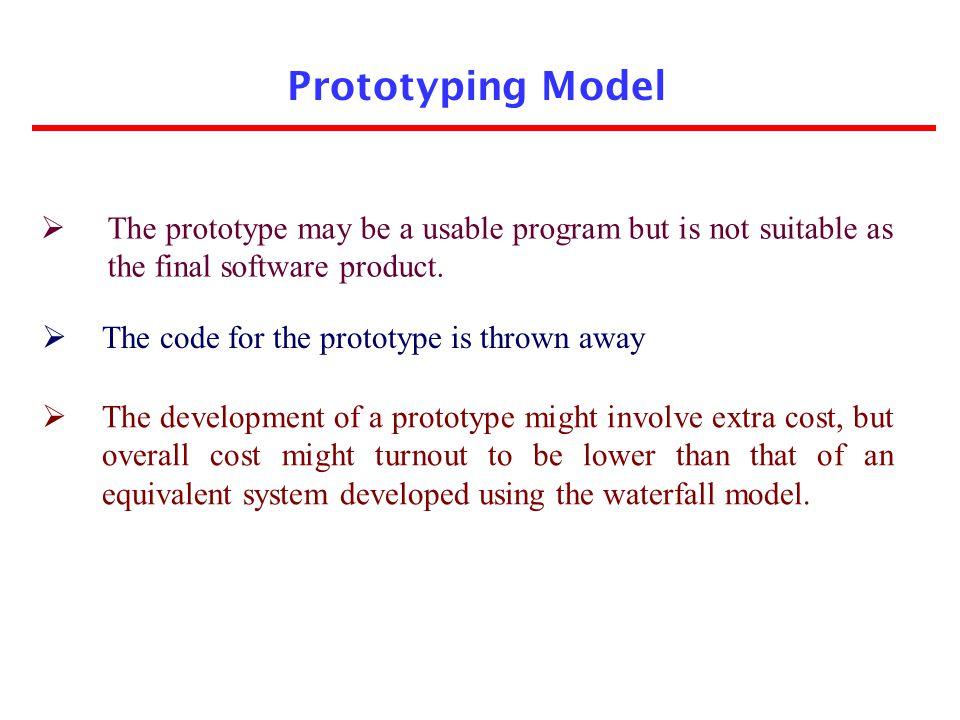 Linear model Rapid Prototyping Model