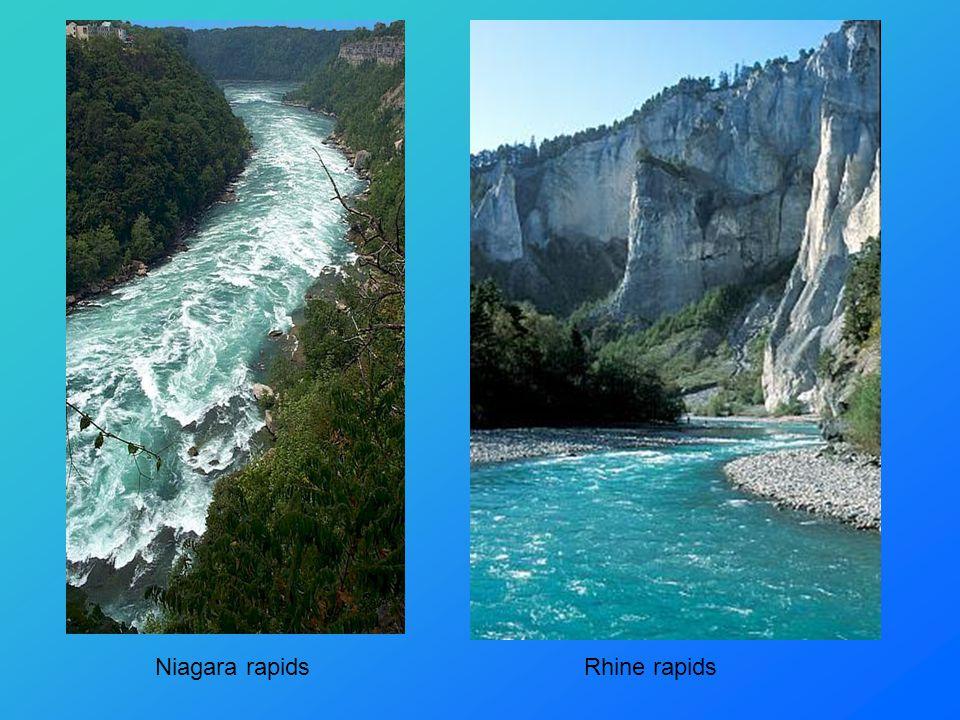 Niagara rapidsRhine rapids