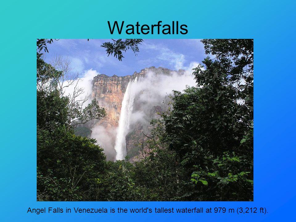 Waterfalls Victoria falls Niagara falls