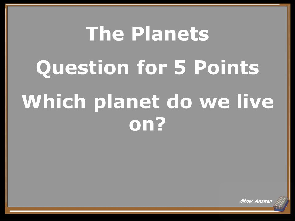 Rivers Question for 5 Points What is the longest river in the U.S.? Show Answer
