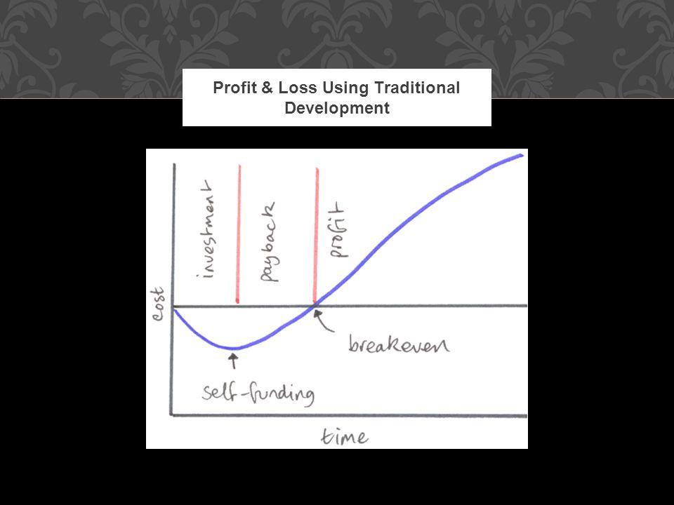 Profit & Loss Using Traditional Development