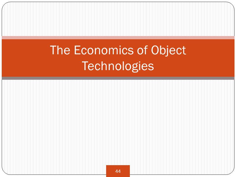 44 The Economics of Object Technologies
