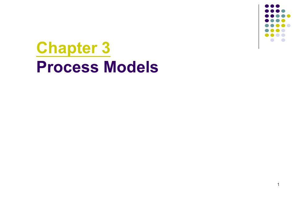 2 Prescriptive Models What is it A prescriptive process model defines a distinct set of activities, actions, tasks, milestones, and work products to engineering high-quality software.
