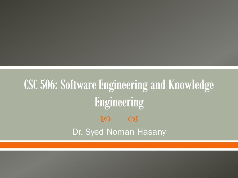  Dr. Syed Noman Hasany
