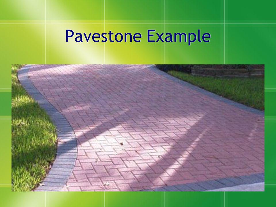 Pavestone Example