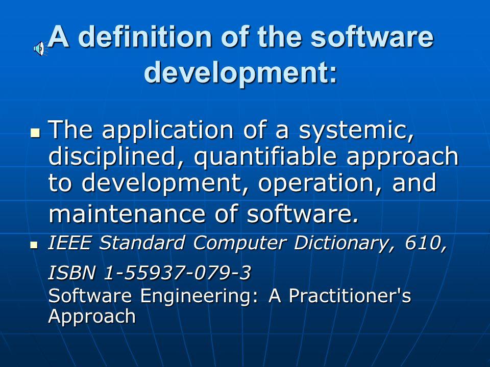 Software Development L. Grewe