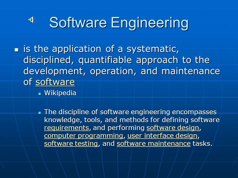 Why study Software Development.