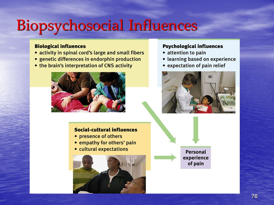 76 Biopsychosocial Influences