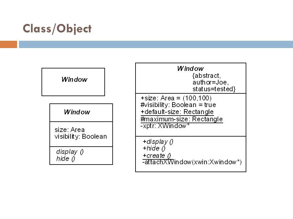 Class/Object 27