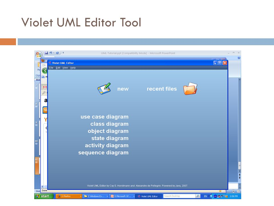 Violet UML Editor Tool