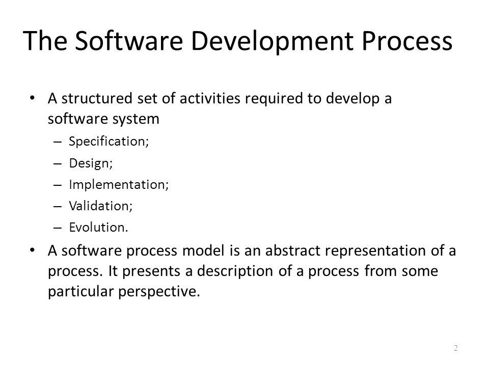 Incremental development 13