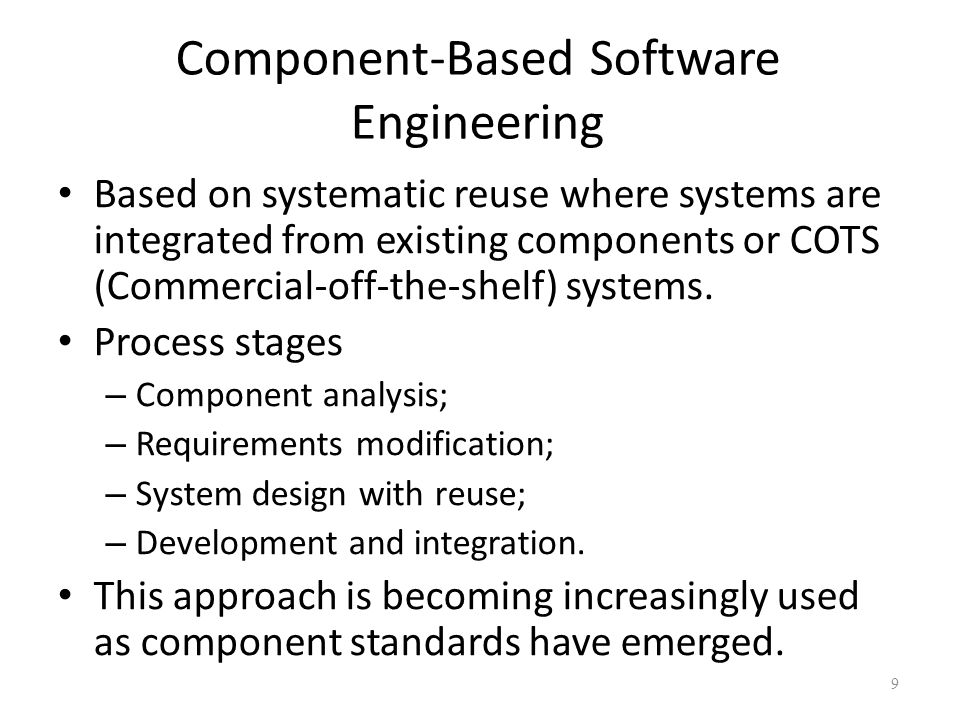The Requirements Engineering Process 20