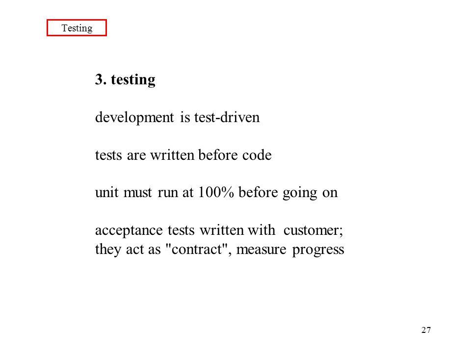 27 Testing 3.