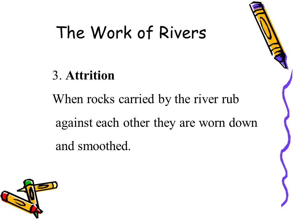 The mature stage of a river The river has a greater volume since many tributaries have joined it.