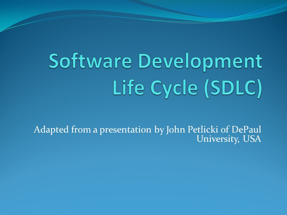 Overview SDLC Model Waterfall Model V-Shaped Model Prototyping Rapid Application Development Spiral Model Conclusion