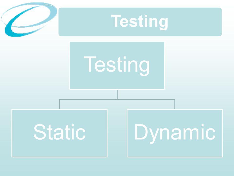 Testing StaticDynamic