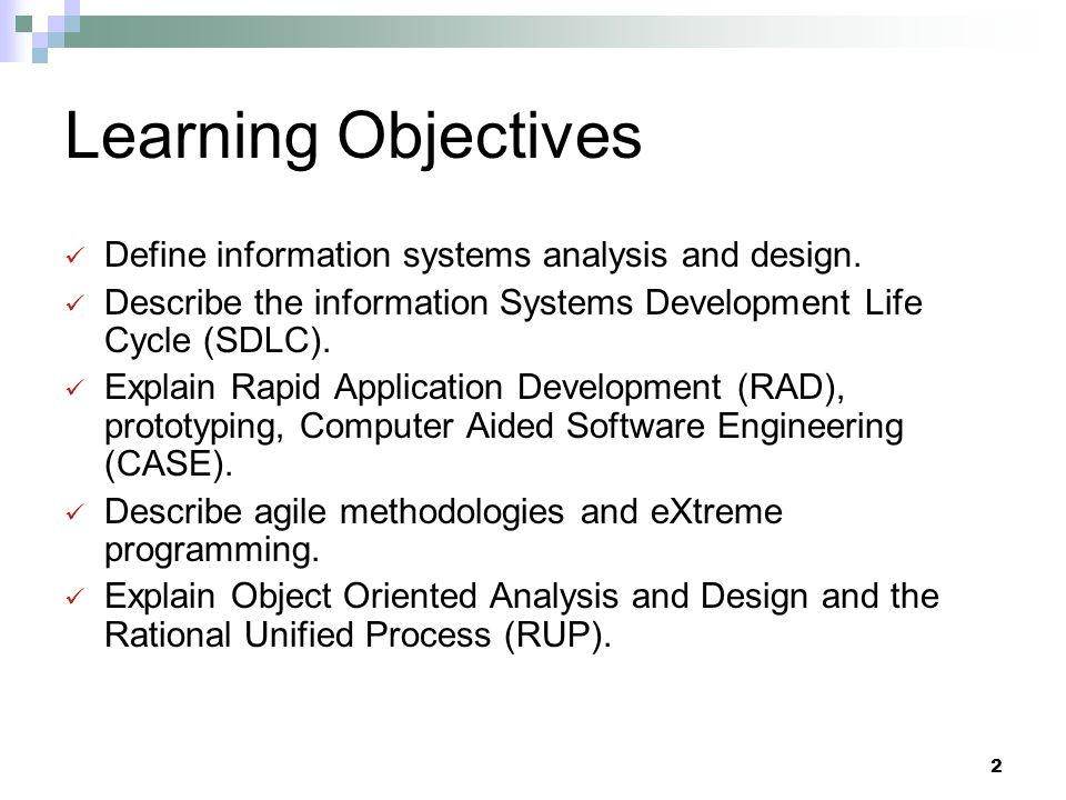 3 Introduction Information Systems Analysis and Design  Complex organizational process  Used to develop and maintain computer- based information systems  Used by a team of business and systems professionals